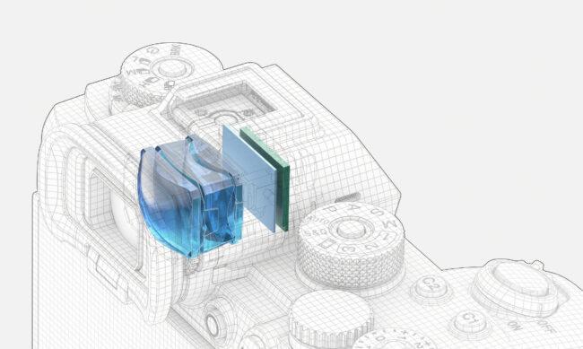 Sony Alpha 1 EVF