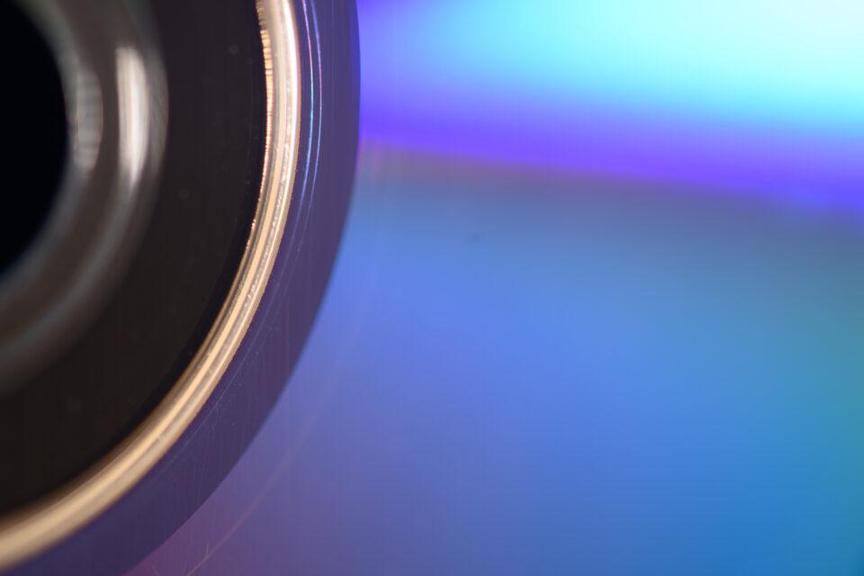 CD colors up close