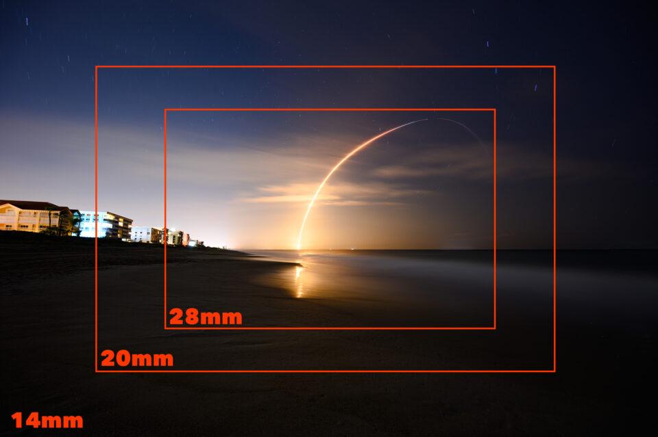 Focal Length Comparison Rockt Launch