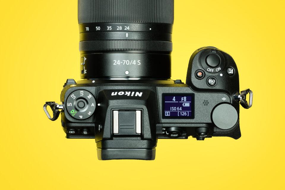 Nikon-Z7-II-Top-Controls