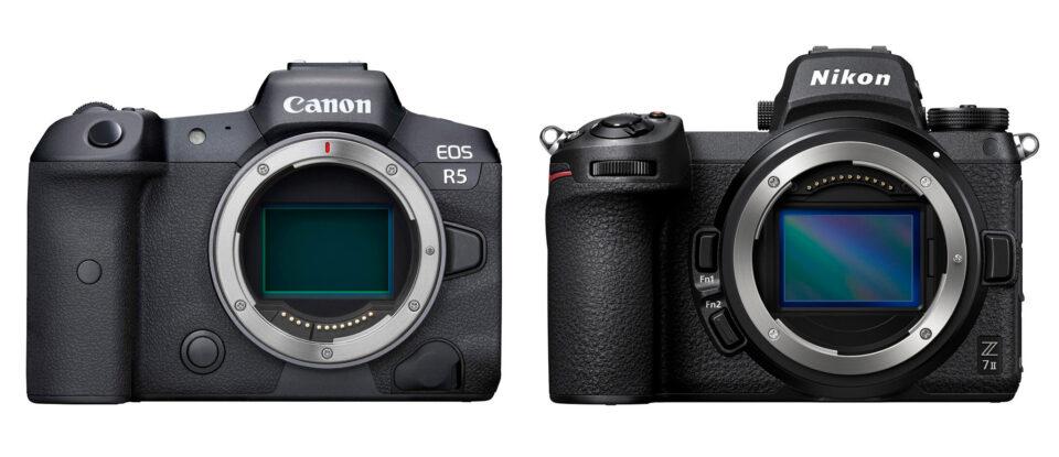 Canon EOS R5 vs Nikon Z7 II
