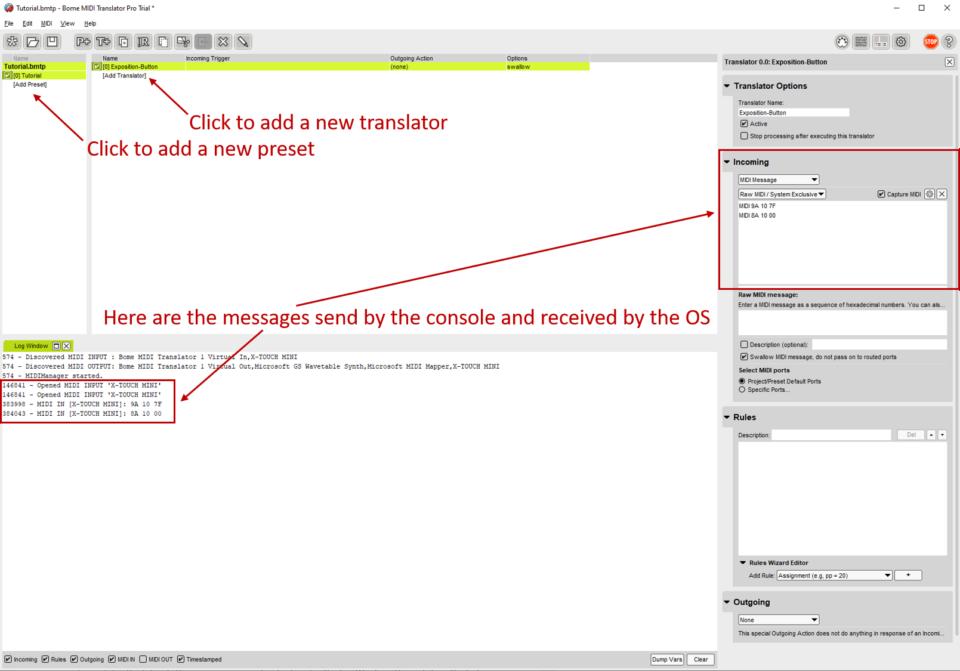 Adding translator
