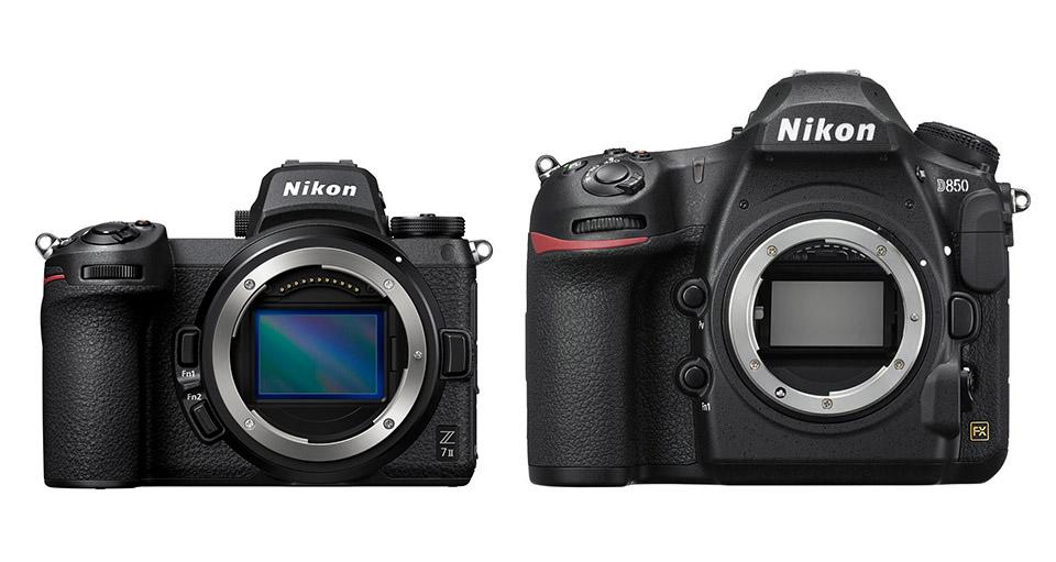 Nikon-Z7-II-vs-Nikon-D850