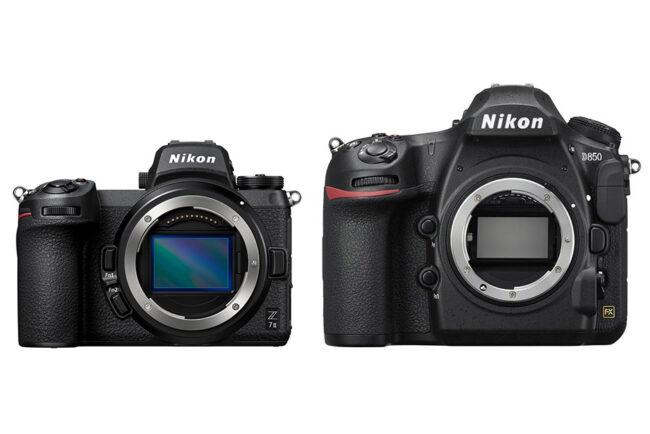 Nikon Z7 II vs Nikon D850