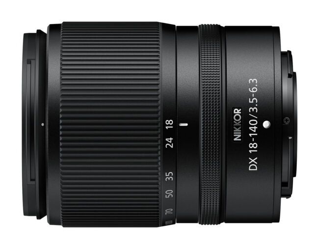 Nikon Z 18-140mm DX lens