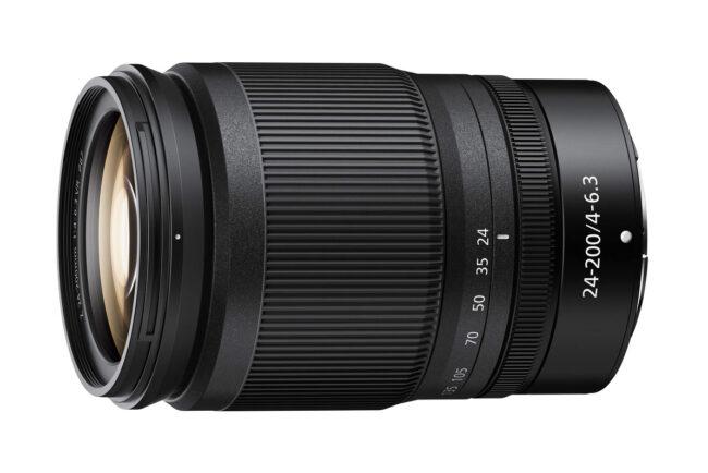 Nikon Z 24-200mm f4-6.3 VR Lens Product Photo