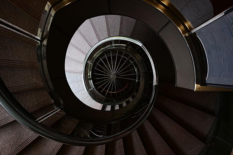 Nikon Z 28mm f2.8 Sample photo of staircase