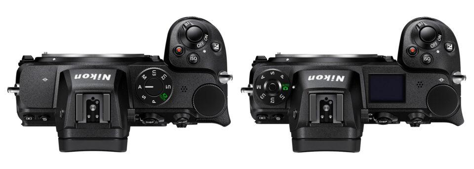 Nikon-Z5-vs-Z6-ii-Top