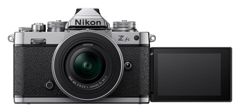 Nikon Zfc Tilt Flip Articulating LCD Screen