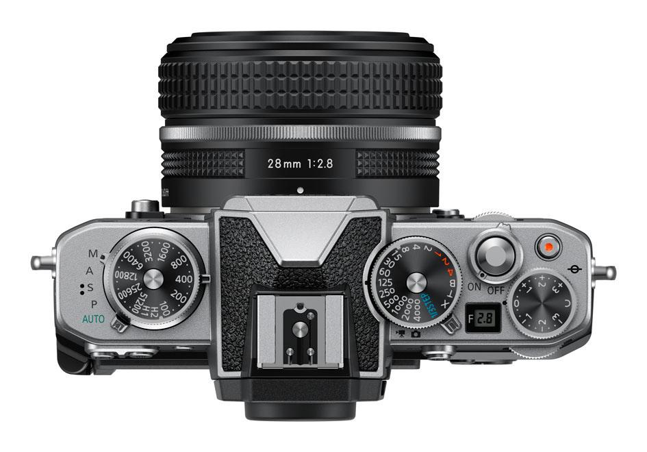 Nikon Zfc Top View