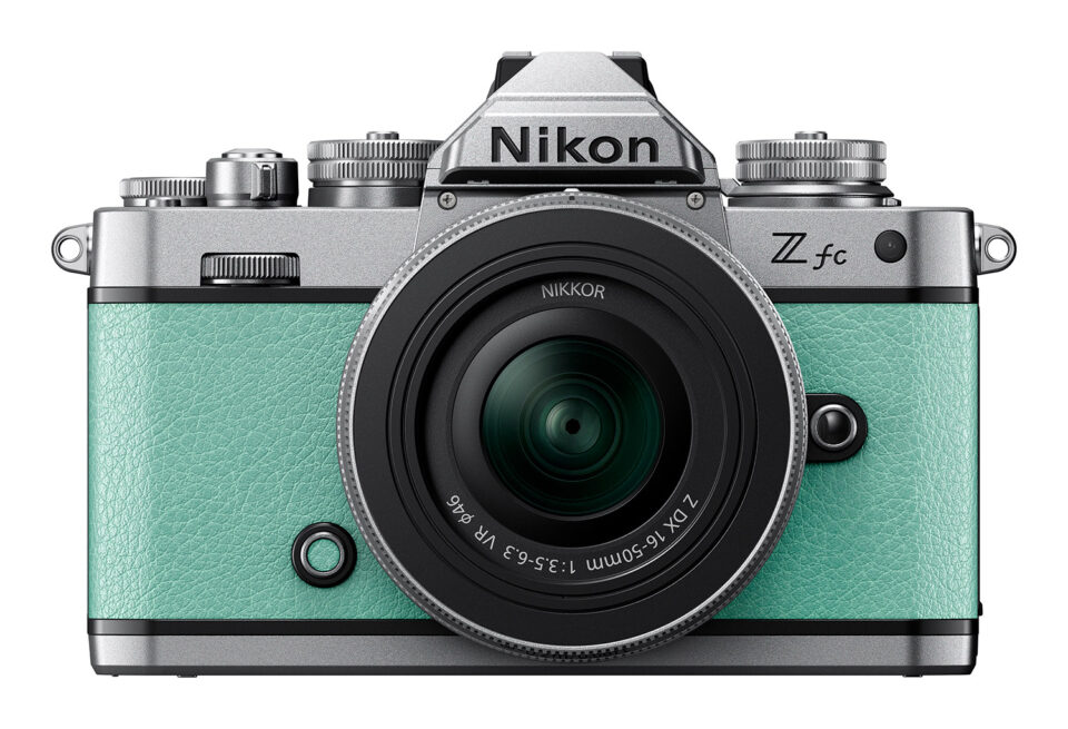 Nikon Zfc in Mint Green color