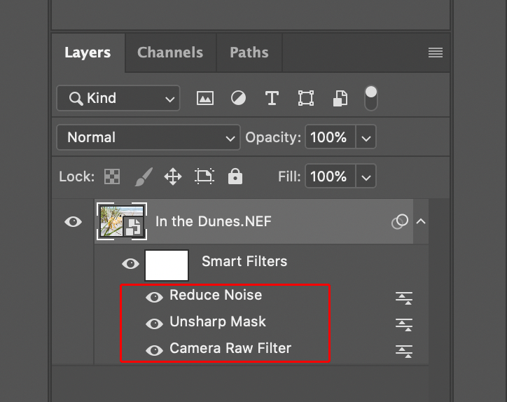 Smart Filters in Photoshop