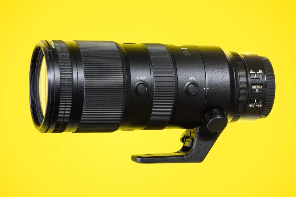 Nikon Z 70-200mm f2.8 VR S Lens