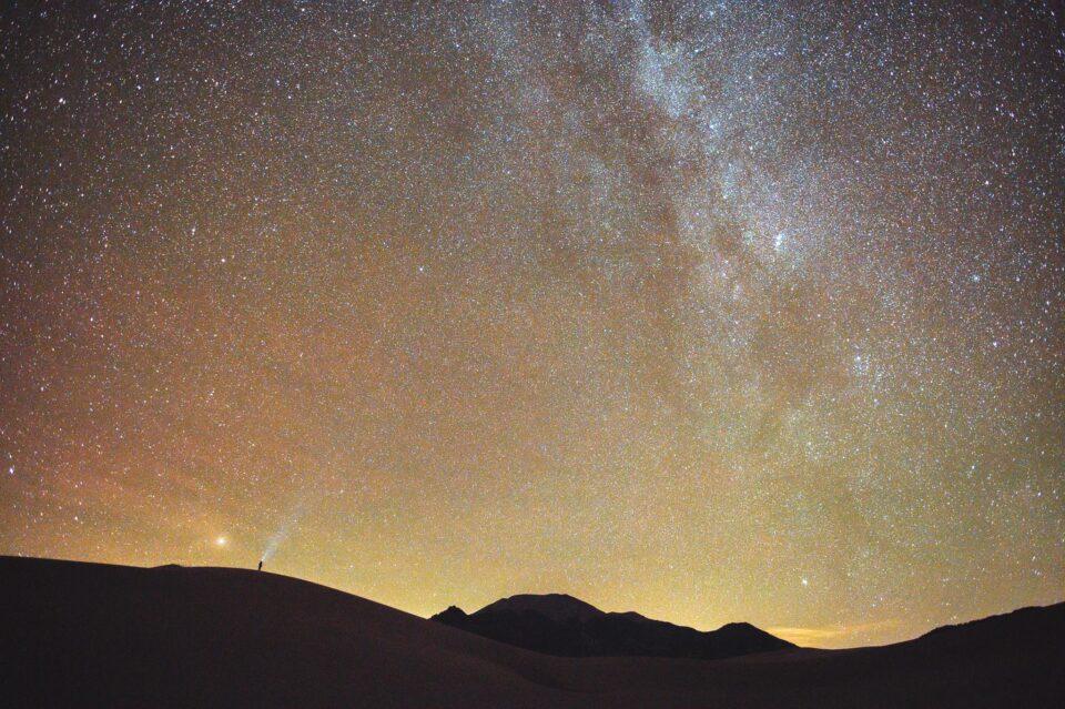 Nikon Z6 with F-mount 20mm f1.8G Milky Way