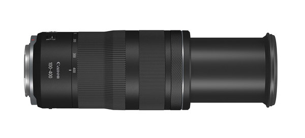 Canon 100-400mm f5.6-8 a 400mm