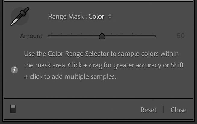 Color Range Mask Dialog