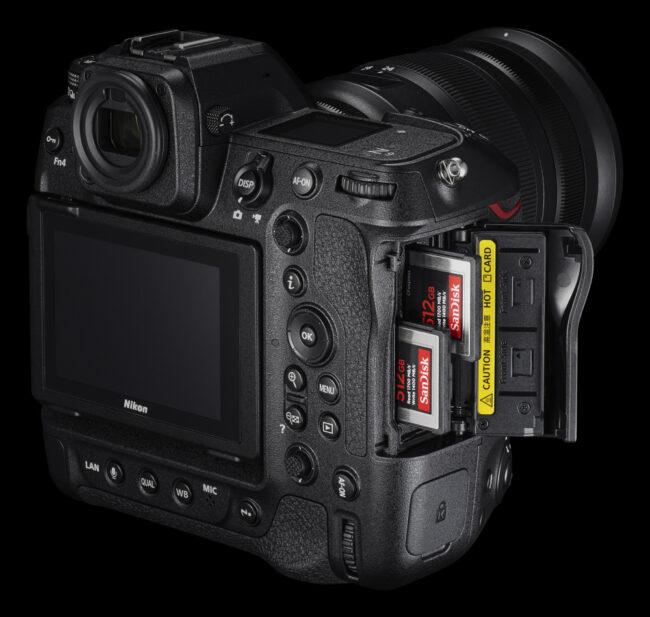 Nikon D6 vs Nikon Z9